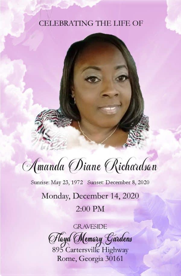 Obituary design