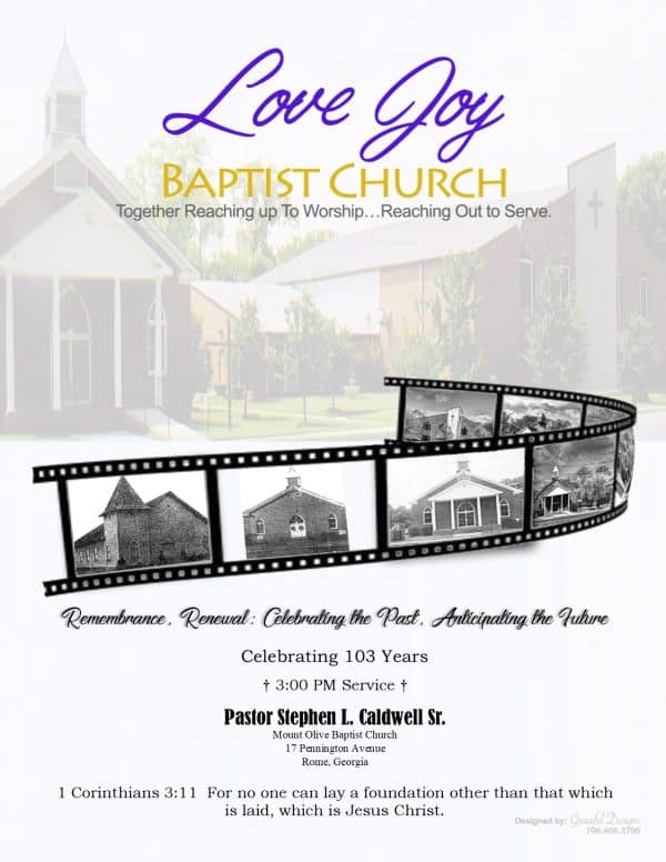 All event invitations are designed by Graceful Designs